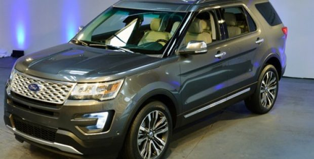 Ford unveils redesigned version of its bestselling Explorer SUV
